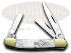 German Bull Range Rider Knife Cracked Ice Stainless Pocket Knives GB-106CI