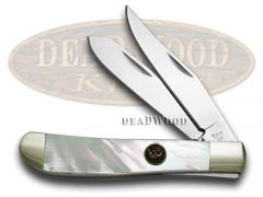 Hen & Rooster Mini Trapper Knife Genuine Mother of Pearl Stainless 212-MOP