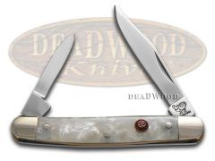Hen & Rooster Pen Knife Cracked Ice Celluloid Stainless Pocket Knives 302-CI