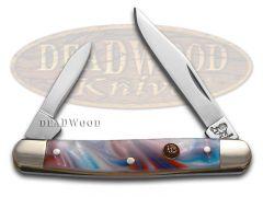 Hen & Rooster Pen Knife Star Spangled Banner Corelon Stainless Pocket 302-STAR