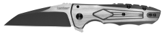 Kershaw Deadline Inset Liner Lock Knife Satin Stainless Steel 1087 Pocket Knives