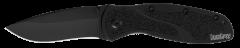 Kershaw Blur Liner Lock Knife Black Aluminum & DLC Sandvik Stainless 1670BLK