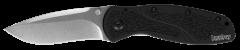 Kershaw Blur Liner Lock Knife Black Aluminum Stonewash S30V Stainless 1670S30V