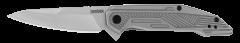 Kershaw Terran Frame Lock Knife Bead-Blasted Stainless Steel 2080 Pocket Knives