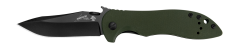 Kershaw Emerson CQC-5K Liner Lock Knife Olive Drab G-10 Stainless 6074OLBLK