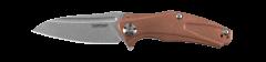 Kershaw Natrix XS Frame Lock Knife Solid Copper D2 Carbon Steel 7006CU Pocket