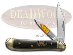 Steel Warrior Peanut Knife Genuine Buffalo Horn Stainless Pocket SW-107CBH